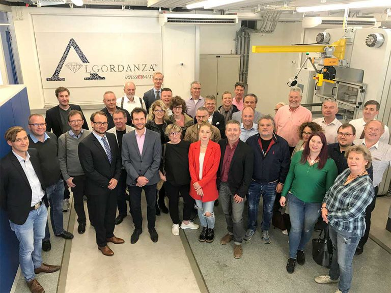Algordanza Switzerland opens their doors to the public