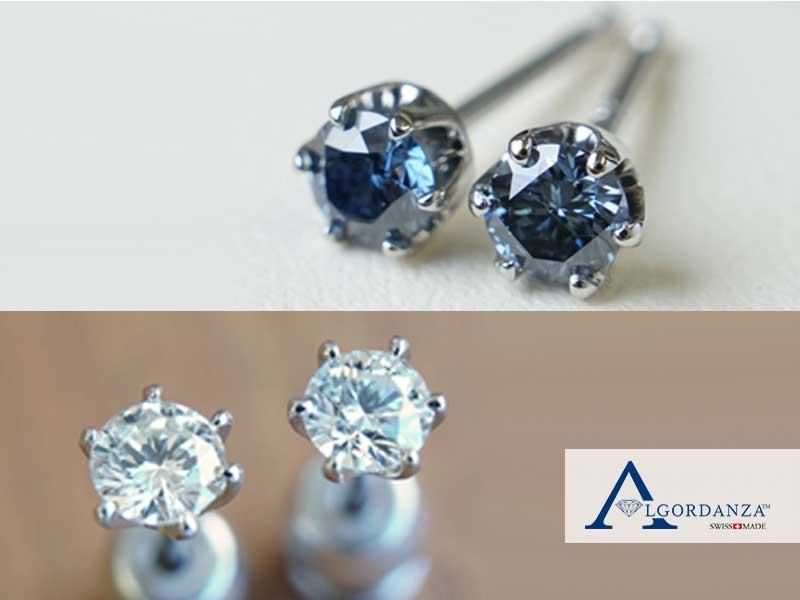 Ash Diamond in Earrings Algordanza