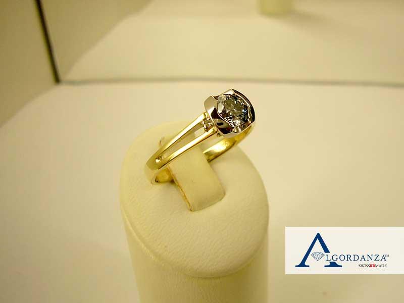 Ash Ring Algordanza Memorial Diamond UK