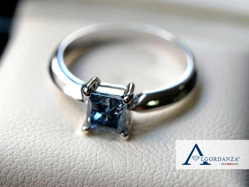 Ash Diamond Algordanza UK White Gold Ring