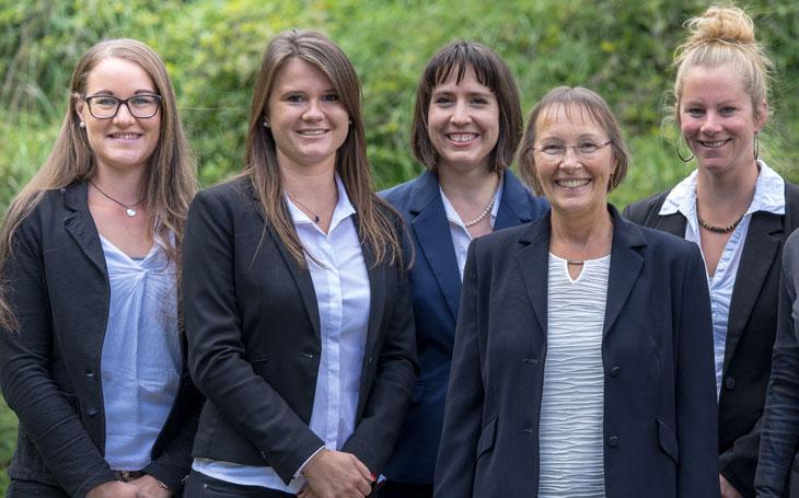 The Algordanza Administration Team in Switzerland
